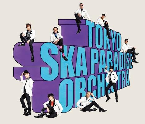 東京スカパラダイスオーケストラ「ツギハギカラフル」CD+Blu-ray盤ジャケット