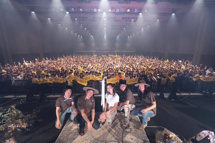 "Baby Kiy「BABY KIY TOUR 2019 ""All About You""」東京・日本橋三井ホール公演の様子。"