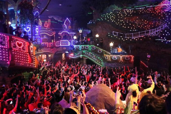 「SPOOKY PUMPKIN 2019 ~PURO ALL NIGHT HALLOWEEN PARTY~」の様子。