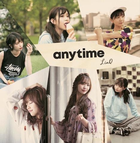 LinQ「anytime」バリかわ盤ジャケット