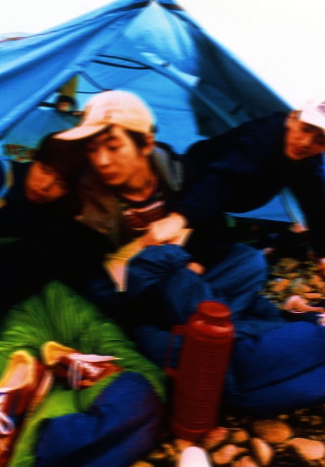 「空中キャンプ」発表時のフィッシュマンズ。