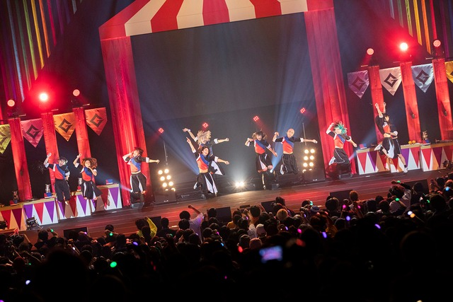 GANG PARADE「PARADE GOES ON TOUR」東京・中野サンプラザホール公演の様子。(撮影:外林健太)