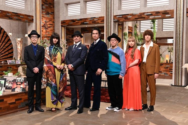 NHK BSプレミアム「The Covers『井上陽水ナイト!』」の出演者。