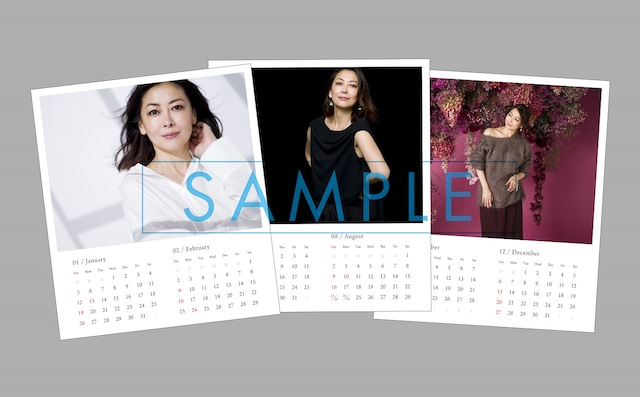 "Miho Nakayama ""Neuf Neuf"" Calendar included with the first limited edition."
