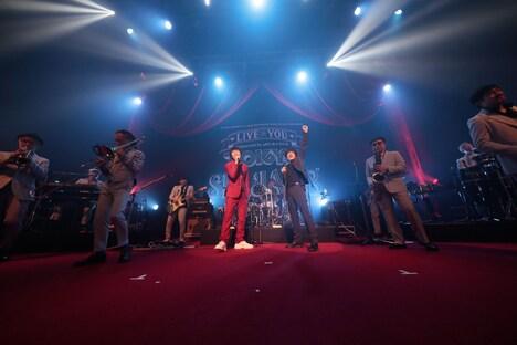 「メモリー・バンド」のセッションの様子。(撮影:柴田恵理)