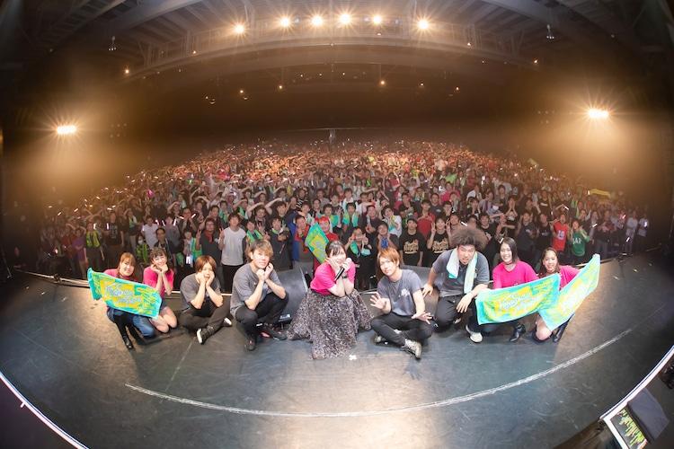 鈴木このみ「Konomi Suzuki Asia Tour 2019」東京・チームスマイル・豊洲PIT公演の様子。(撮影:小林弘輔)