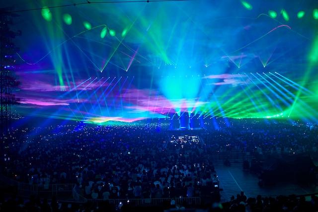 「BUMP OF CHICKEN TOUR 2019 aurora ark」東京ドーム公演の様子。(撮影:太田好治)