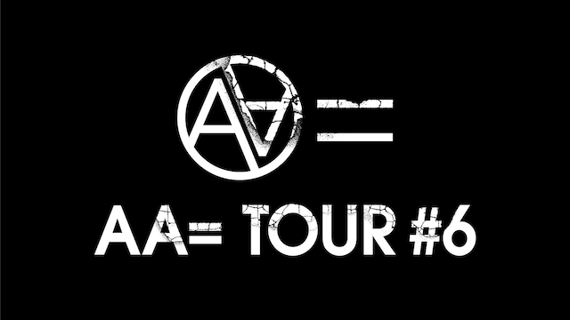 「AA= TOUR #6」ロゴ
