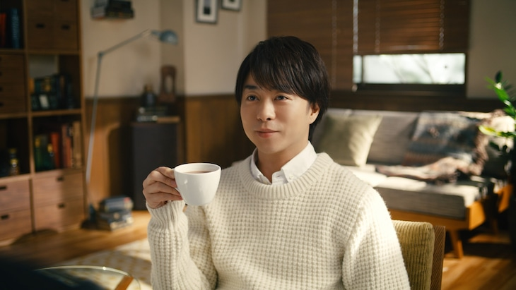 CM「ミルクココア やりすぎ」編のワンシーン。