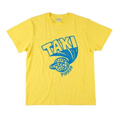 """「DENKI GROOVE ONLINE STORE」で販売される「 """"SDP(Special Design Pierre)"""" T-shirt(YELLOW)」商品画像。"""