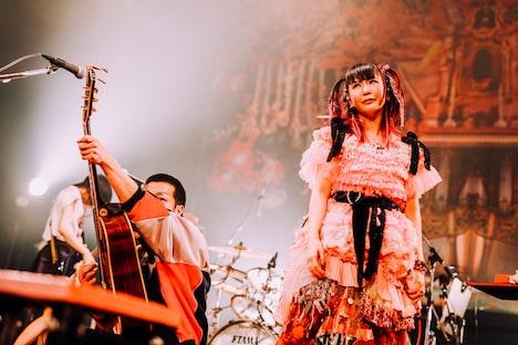 左から峯田和伸(銀杏BOYZ)、大森靖子。(撮影:西槇太一)