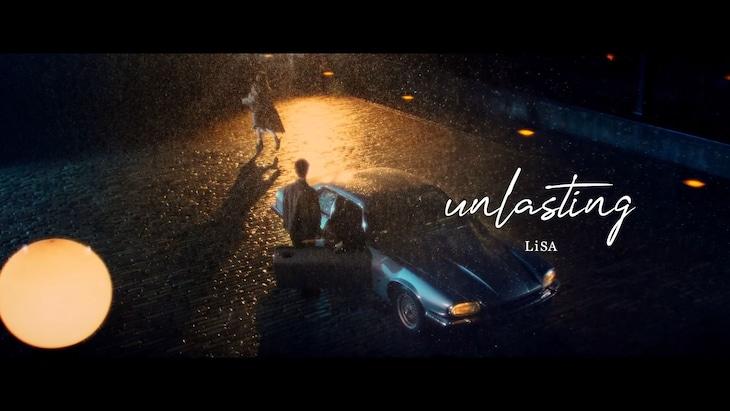 LiSA「unlasting」ミュージックビデオのサムネイル。