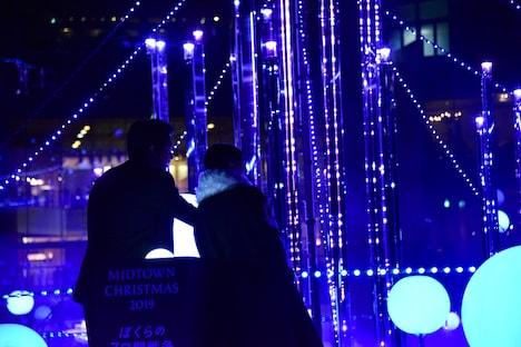 「スターライトガーデン 2019」点灯式の様子。