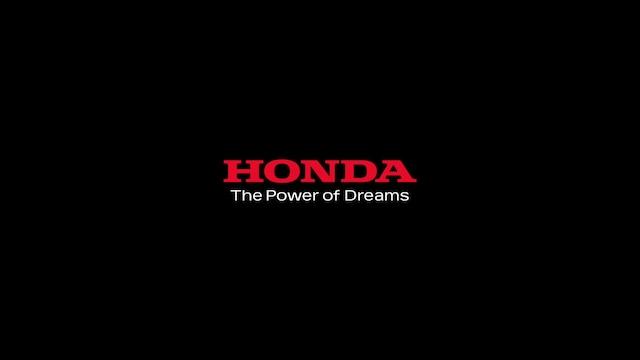 Honda「VEZEL」CMのワンシーン。