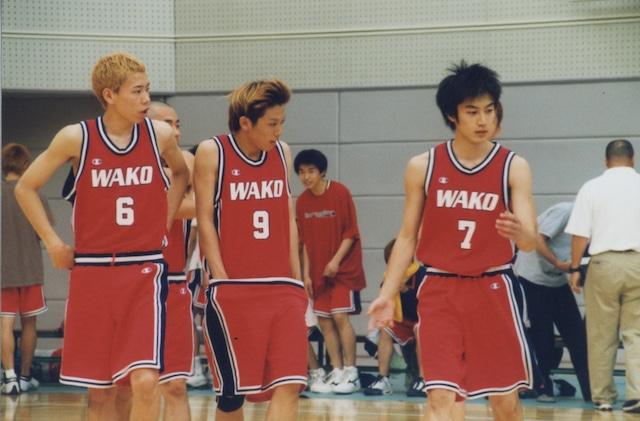 バスケットボールに夢中だった学生時代。