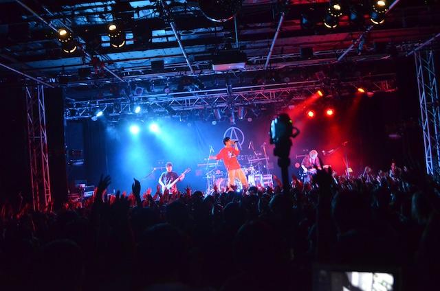 "ACE COLLECTION「LIVE TOUR 2019 ""BUILD UP!!""」東京・新宿BLAZE公演の様子。"