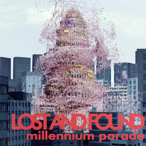 millennium parade「lost and found」ジャケット
