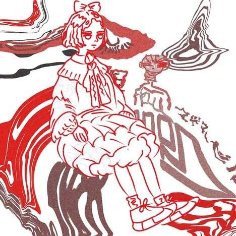 yonawo「Mademoiselle」配信ジャケット