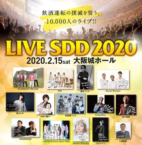 「LIVE SDD 2020」告知ビジュアル