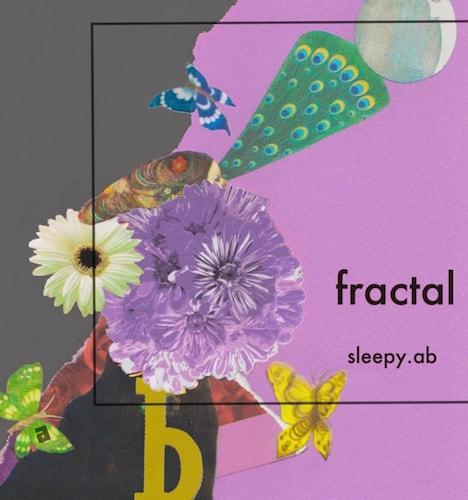 sleepy.ab「fractal」ジャケット