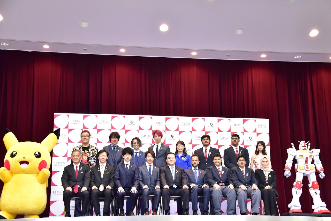 【話題】ガンダム、ポケモンがドバイ万博日本館PR大使に