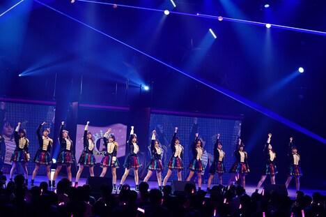 AKB48チームA公演の様子。