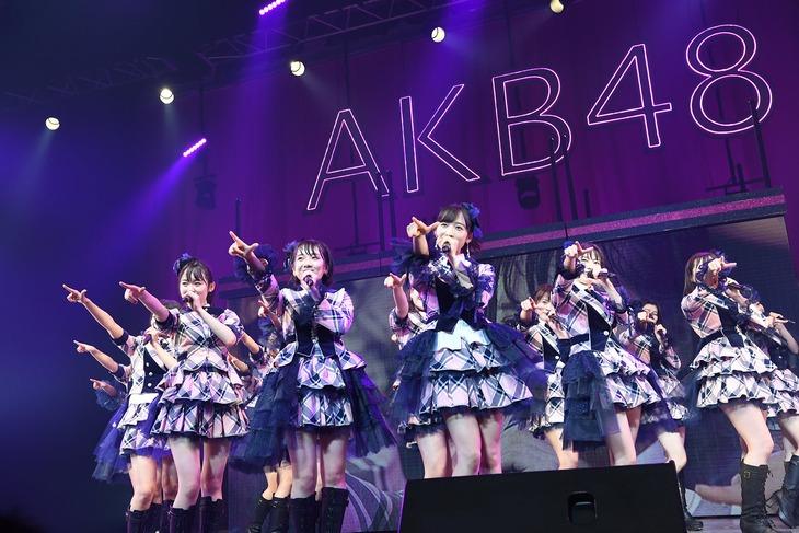 「AKB48全国ツアー2019~楽しいばかりがAKB!~」ツアーファイナルよりチームA公演の様子。