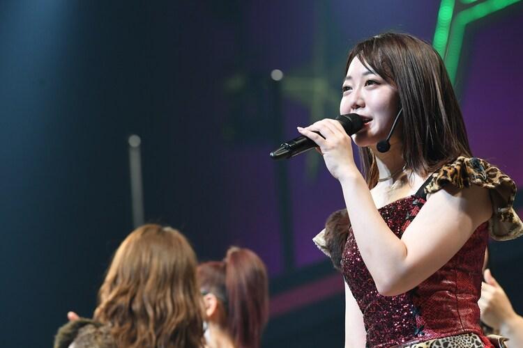 AKB48チームK公演より峯岸みなみ。