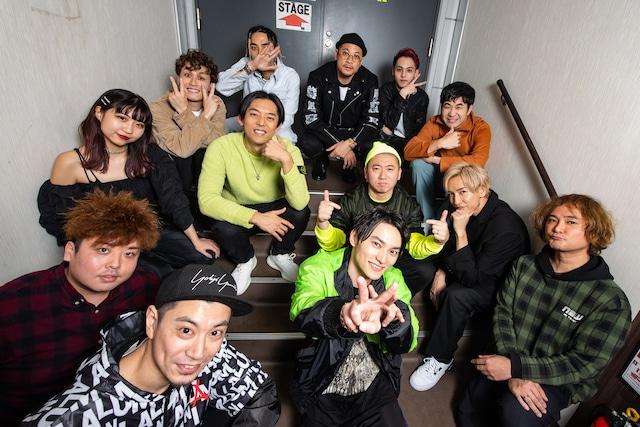 SKY-HI「Round A Ground」12月12日公演の出演者。