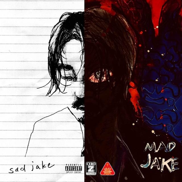 Jin Dogg「SAD JAKE」「MAD JAKE」告知ビジュアル