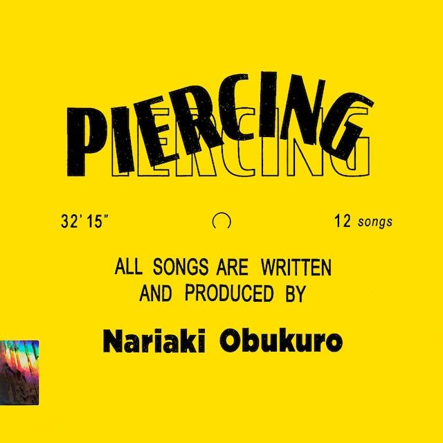 小袋成彬「Piercing」ジャケット