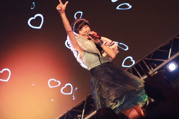 12月15日に行われた「TERASHIMA KAWAII FESTIVAL vol.2」での寺嶋由芙。