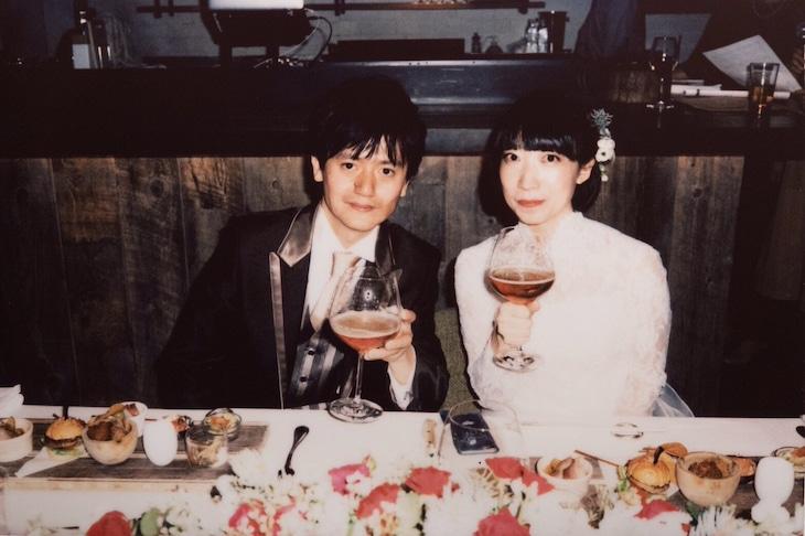 前田卓朗と中川理沙の結婚式の様子。(撮影:山川哲矢)