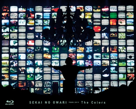 SEKAI NO OWARI「The Colors」Blu-rayジャケット