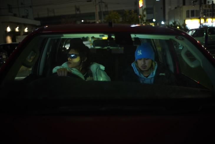 スペースシャワーTV「The Driver : Tohji」より。