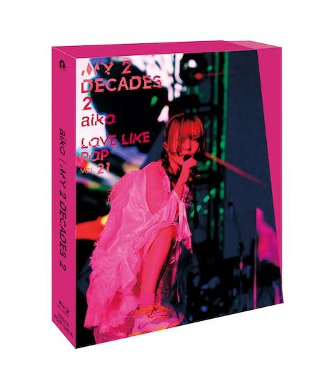 aiko「My 2 Decades 2」Blu-rayジャケット