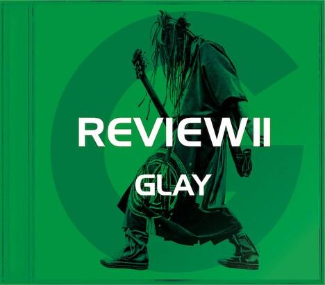 GLAY「REVIEW II -BEST OF GLAY-」HISASHI盤ジャケット