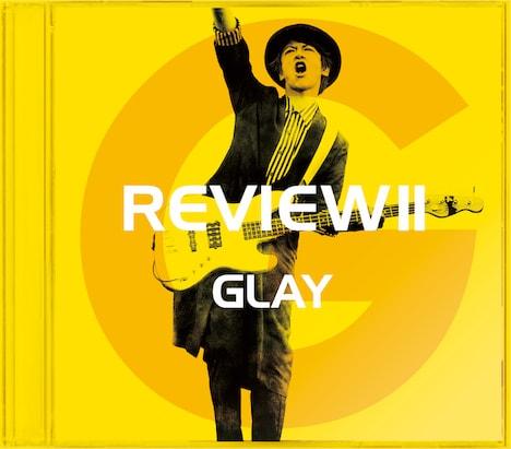 GLAY「REVIEW II -BEST OF GLAY-」JIRO盤ジャケット