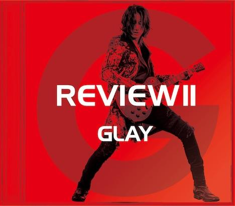 GLAY「REVIEW II -BEST OF GLAY-」TAKURO盤ジャケット