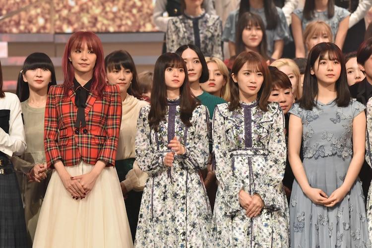 「第70回NHK紅白歌合戦」オープニングのカメラリハーサルの様子。