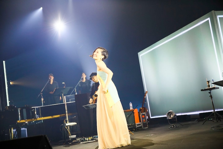坂本真綾「坂本真綾 LIVE TOUR 2019『今日だけの音楽』」Bunkamuraオーチャードホール公演の様子。