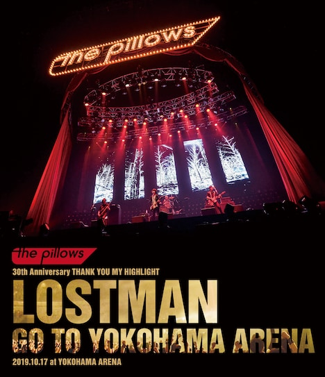 the pillows「LOSTMAN GO TO YOKOHAMA ARENA 2019.10.17 at YOKOHAMA ARENA」Blu-rayジャケット