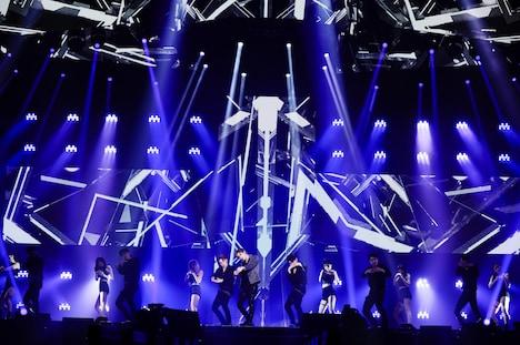 「TAEMIN 2ND CONCERT [T1001101] in JAPAN」大阪・大阪城ホール公演の様子。(撮影:上飯坂一)