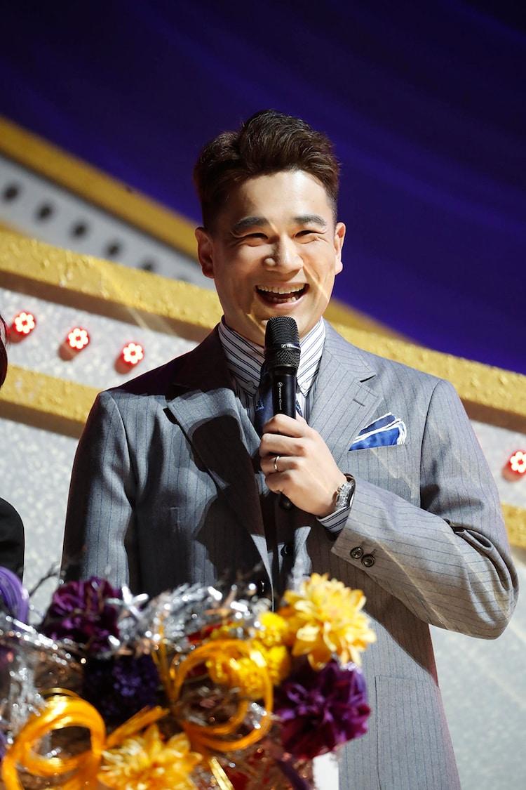 サプライズゲストとして登場した田中将大投手。