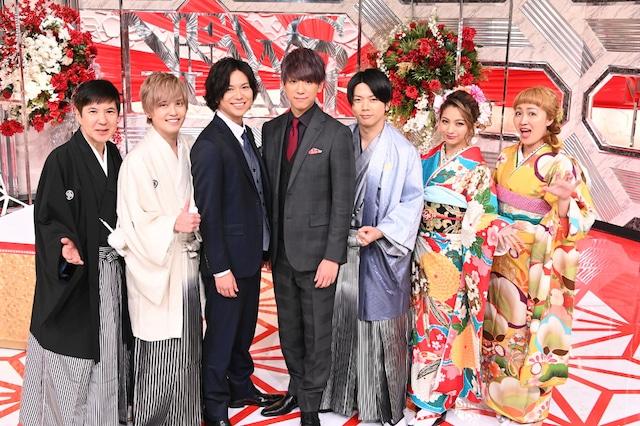 「NEWSな2人SP」出演者 (c)TBS