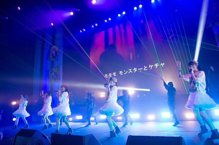 「LINE CUBE SHIBUYA de まねきケチャ」の様子。(撮影:高階裕幸)