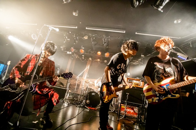 「THE KEBABS 録音」の様子。(Photo by Viola Kam [V'z Twinkle])