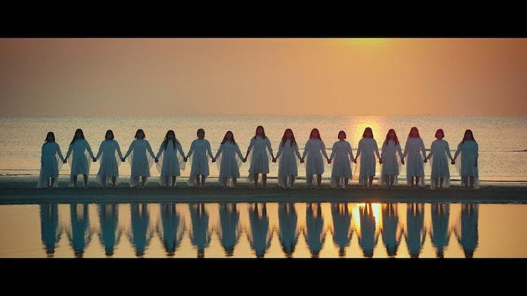 STU48「無謀な夢は覚めることがない」ミュージックビデオのワンシーン。(c)STU/KING RECORDS