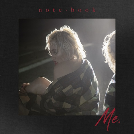 ちゃんみな「note-book -Me.-」ジャケット
