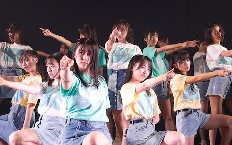 STU48「僕たちの恋の予感」初日公演の様子。(c)STU